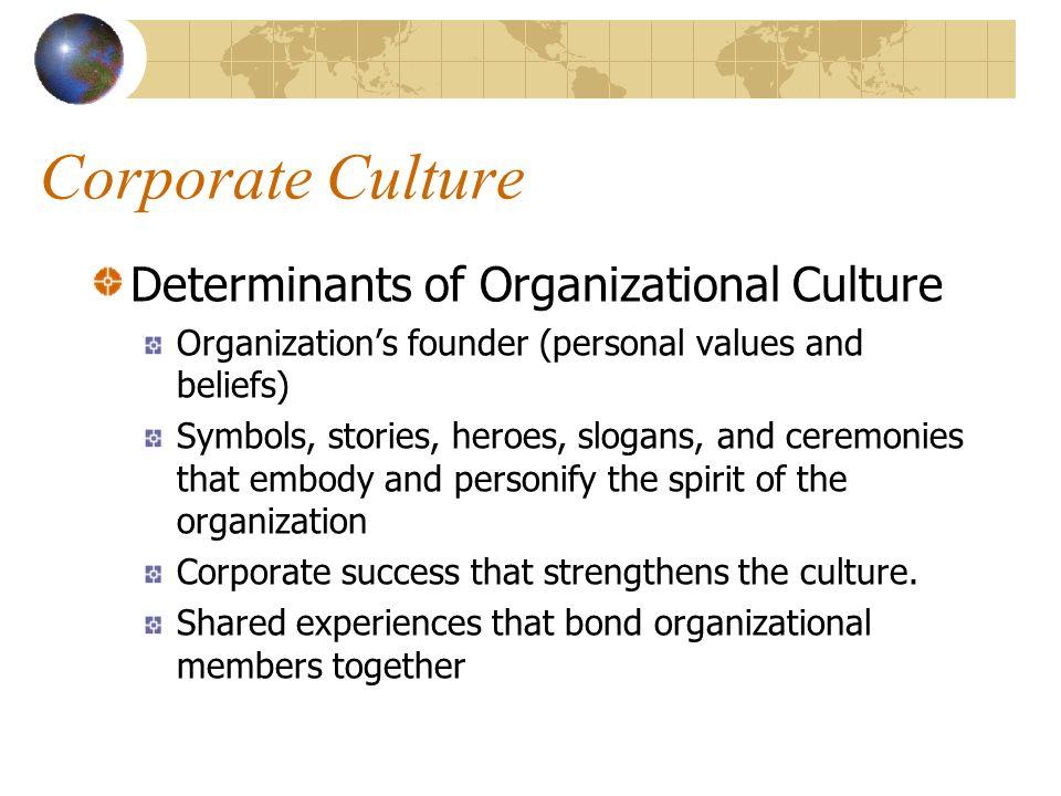 Organizational culture paper