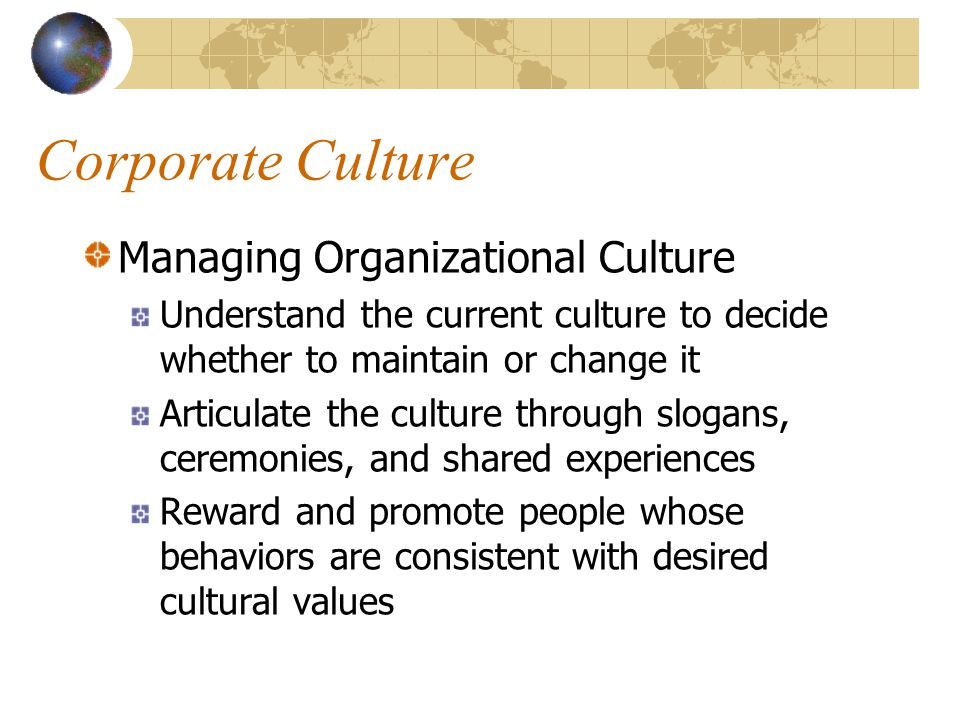 how to change a bad corporate culture