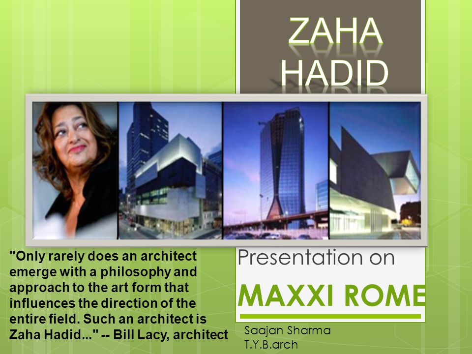 Presentation on MAXXI ROME - ppt video online download