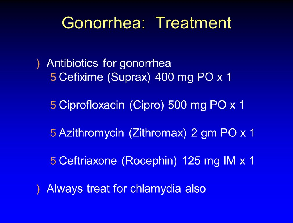 Suprax 400 Mg Gonorrhea