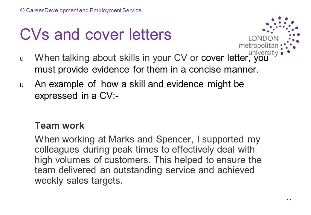 cvs and cover letters when talking about skills in your cv or cover letter you - Skills On Your Cv