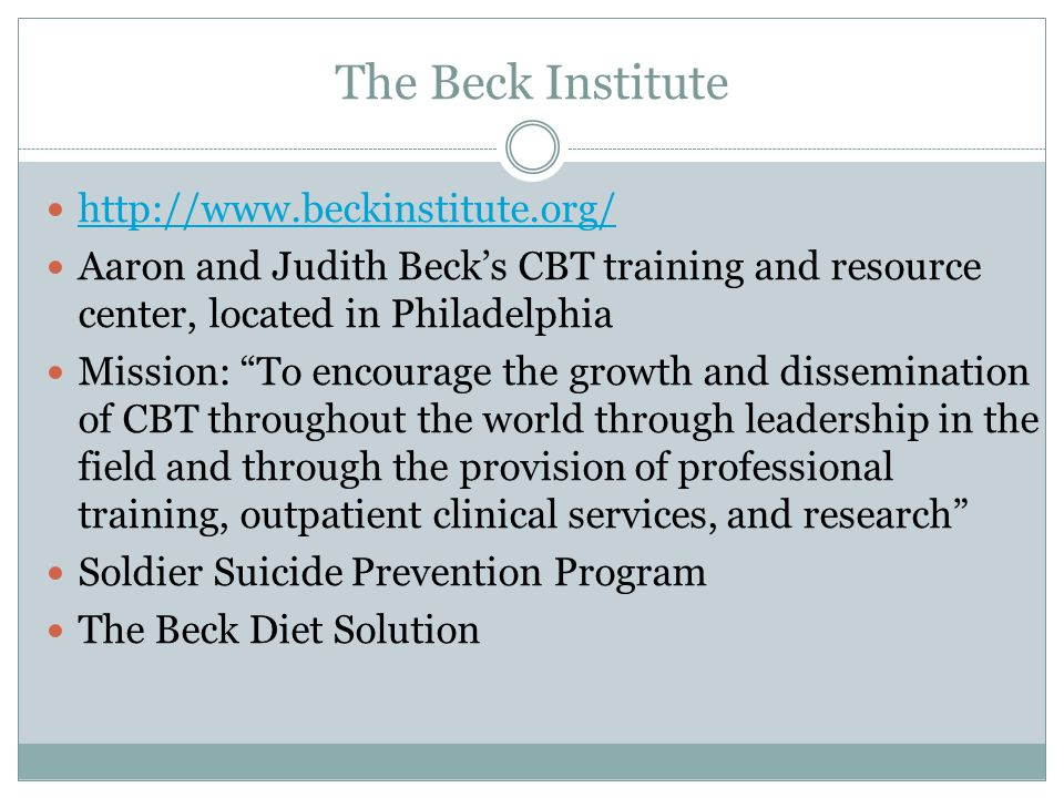 The Beck Institute