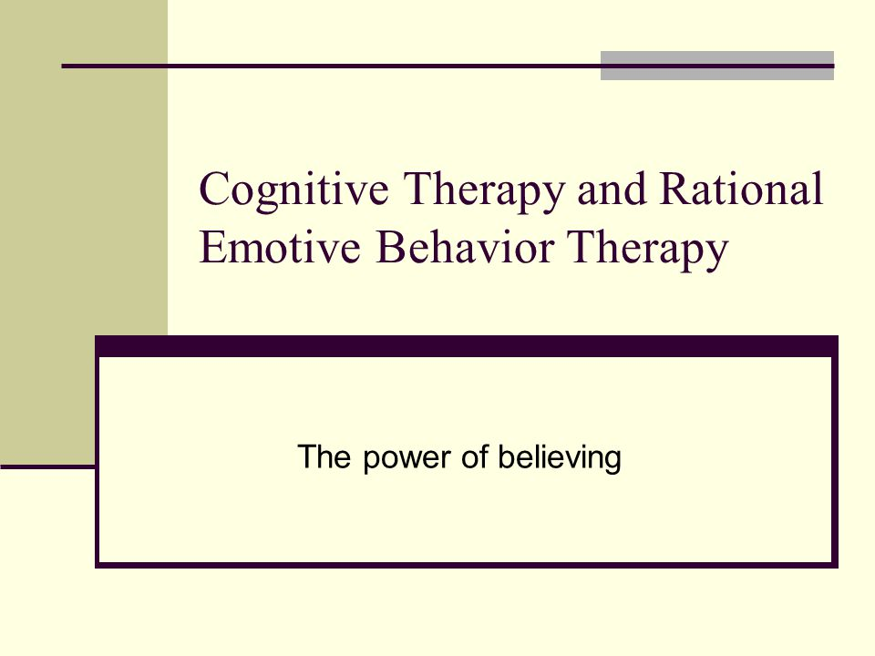 the functions role of the therapist and the techniques of the rational emotive behavioral therapy re