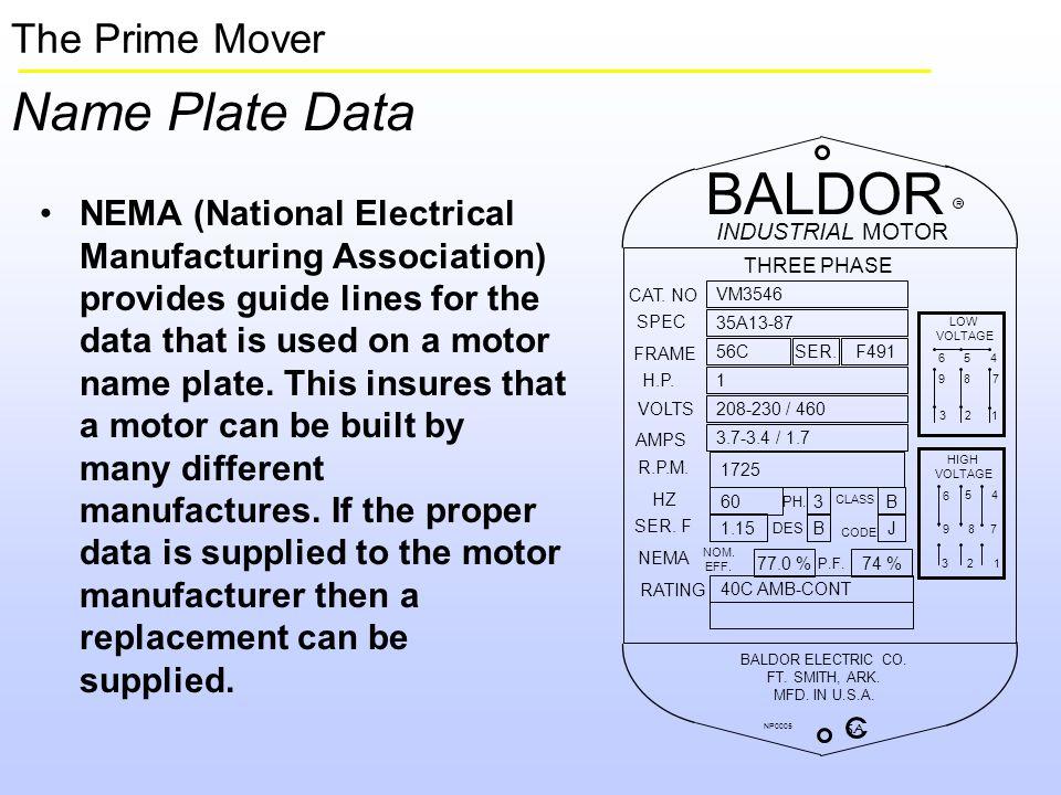 Motor Nameplate Fla Impremedia Net