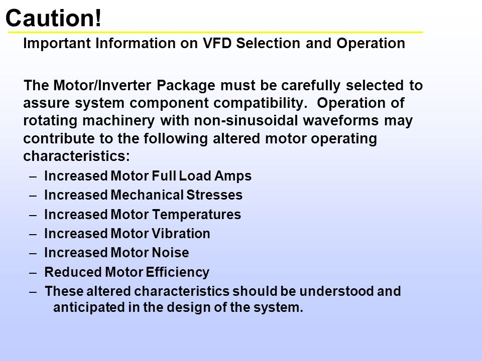 A drive system is not a motor speed control ppt video for How to select vfd for a motor