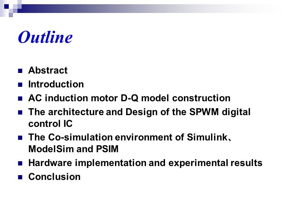 Ma ppt video online download for Ac induction motor design