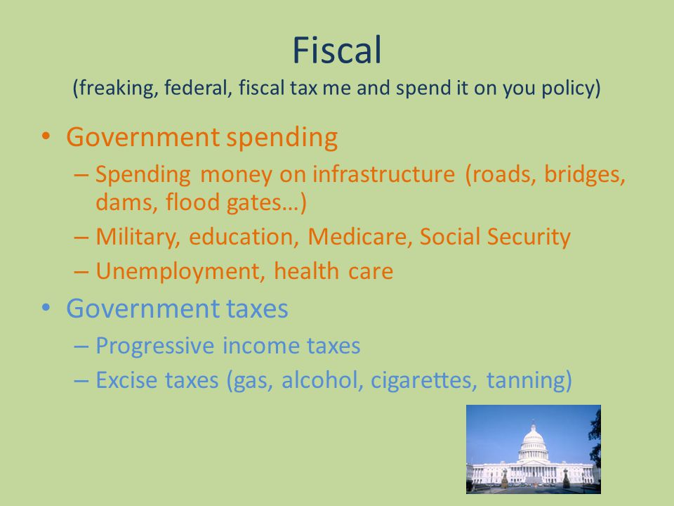the effects of the increase of government spending on infrastructure Start studying 16 - fiscal policy the $1 increase in government spending will lead to due to the stimulative effect of an increase in government.