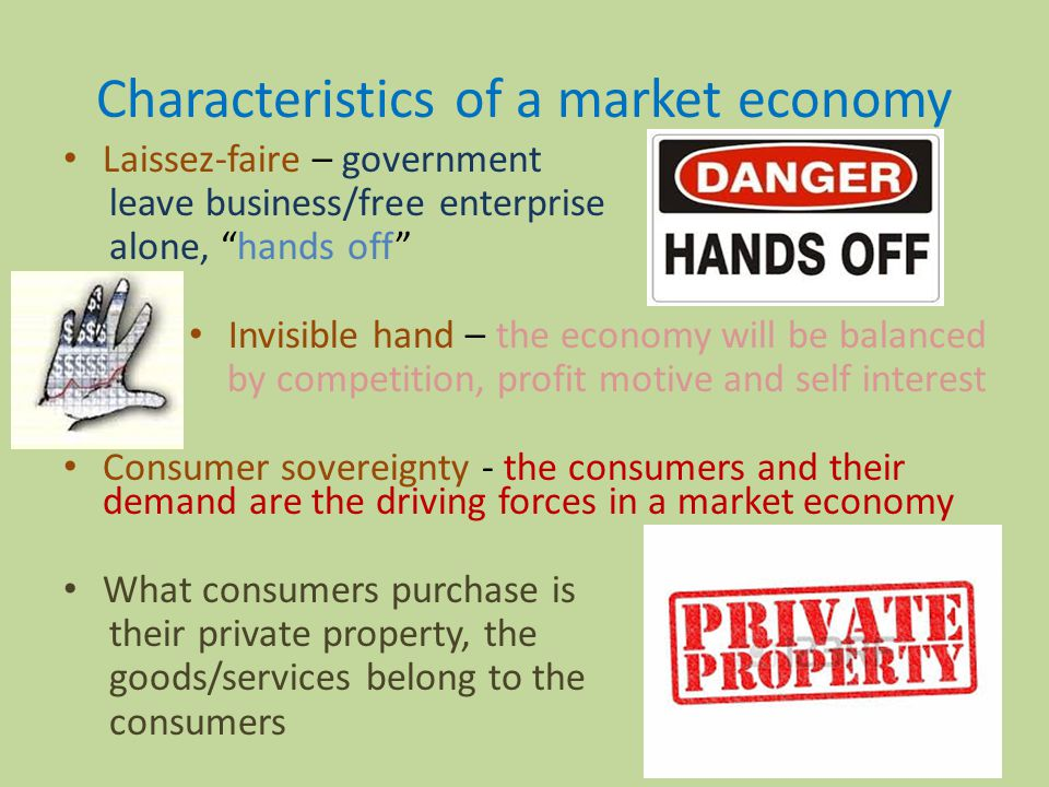 Unit 6 free market and role of government ppt download for 6 characteristics of bureaucracy