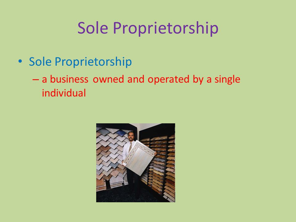 how to start a sole proprietorship business