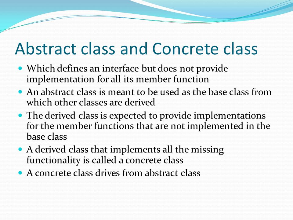 derived classes and base classes Part d - inheritance derived classes relate classes using inheritance hierarchies to minimize the duplication of object code introduce the terminology and syntax of derived classes specify access to the protected members of a base class public inheritance must always model 'is-a' ('works-like-a').