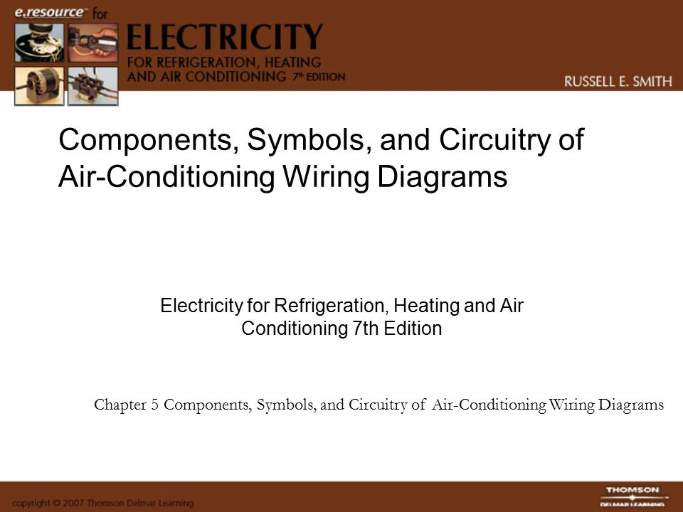 components symbols and circuitry of air conditioning wiring rh slideplayer com