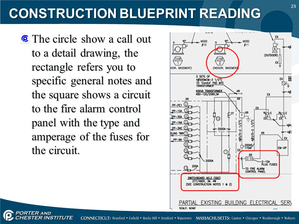 Electrical drawings general notes choice image how to for How to read construction blueprints