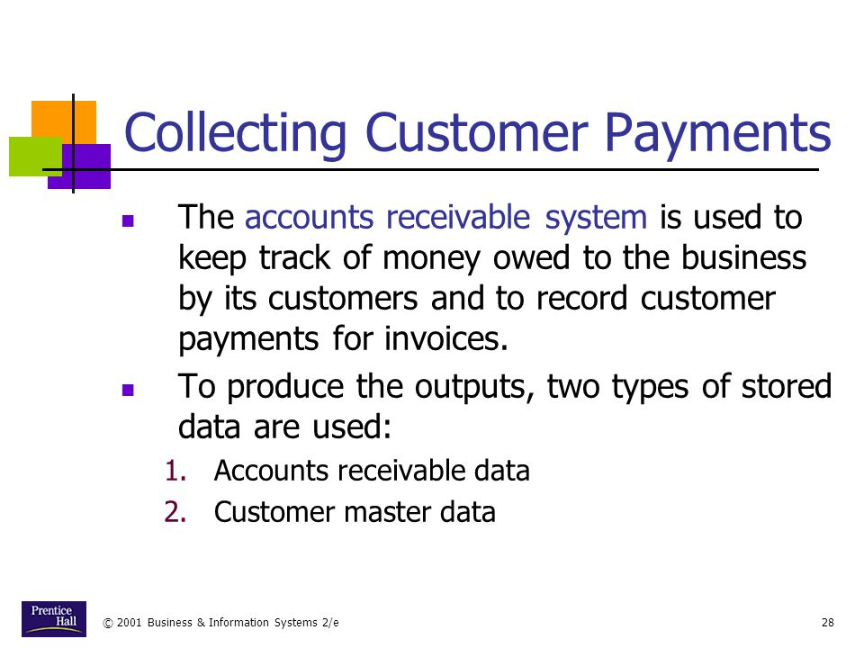 Collecting Customer Payments