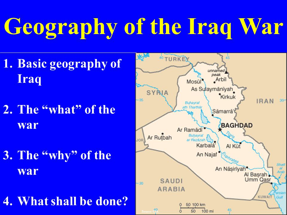 a geography of iraq Study finds americans 18-24 remarkably uninformed about geography.