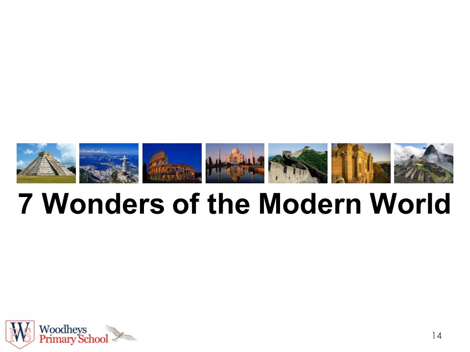 7 wonders of the world ancient and modern ppt