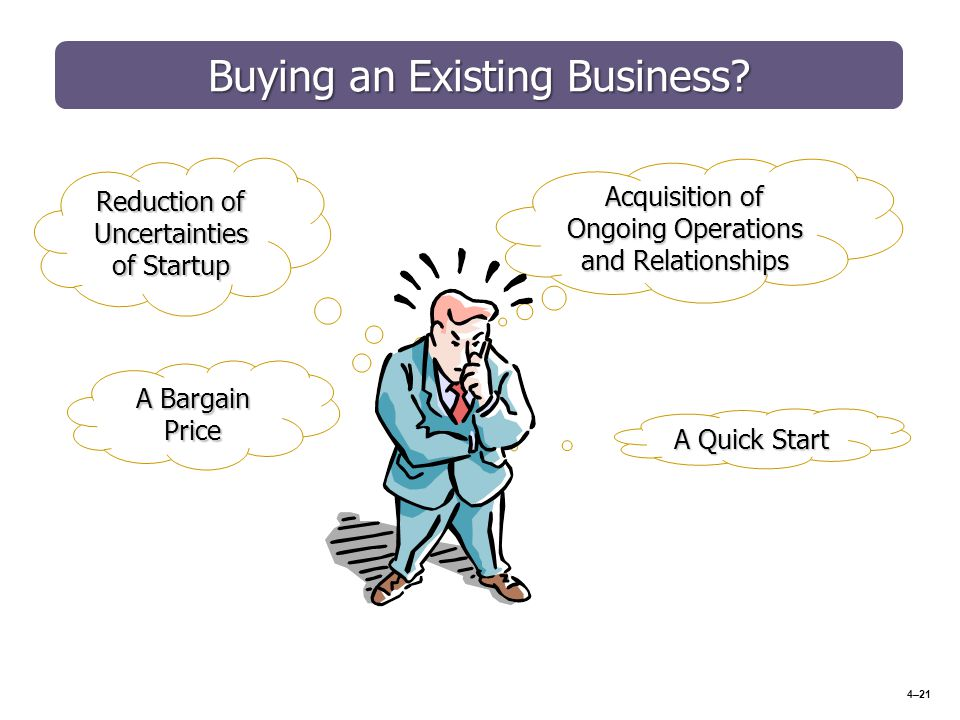 buying an existing business pdf