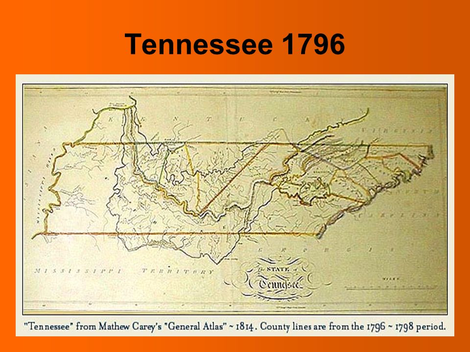 Indian Removal Act The State of Franklin ...