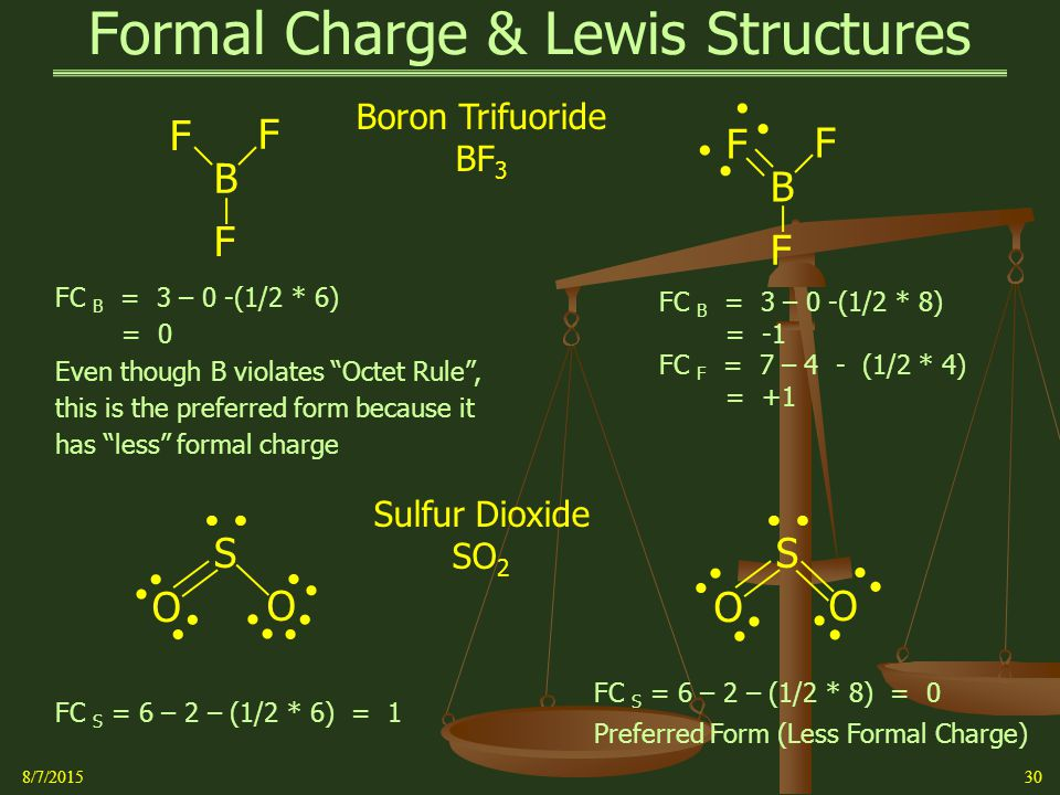 how to find formal charge