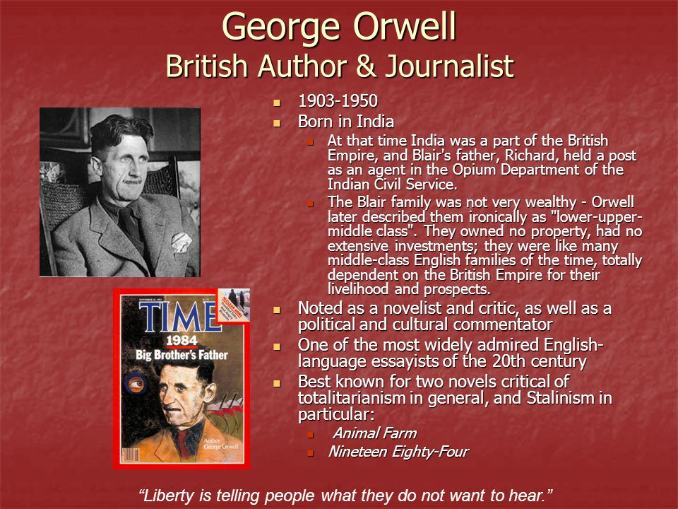 an analysis of allegorical satire in animal farm a novel by george orwell George orwell's animal farm is an allegorical commentary on the downside of russian communism from start to finish an allegory is a narrative that uses literary devices to unveil hidden meanings.