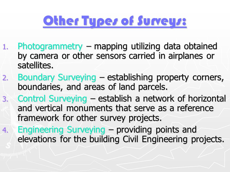 Surveying Introduction Ppt Download