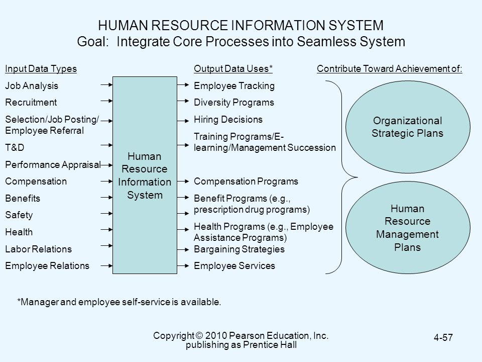 HUMAN RESOURCE INFORMATION SYSTEM Goal: Integrate Core Processes into Seamless System