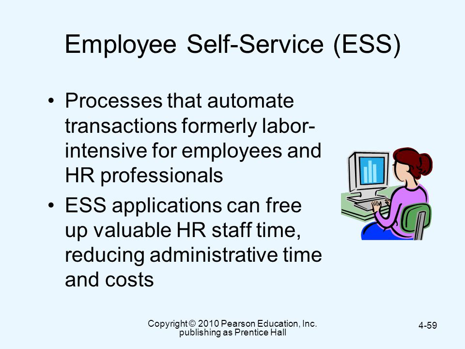 Employee Self-Service (ESS)