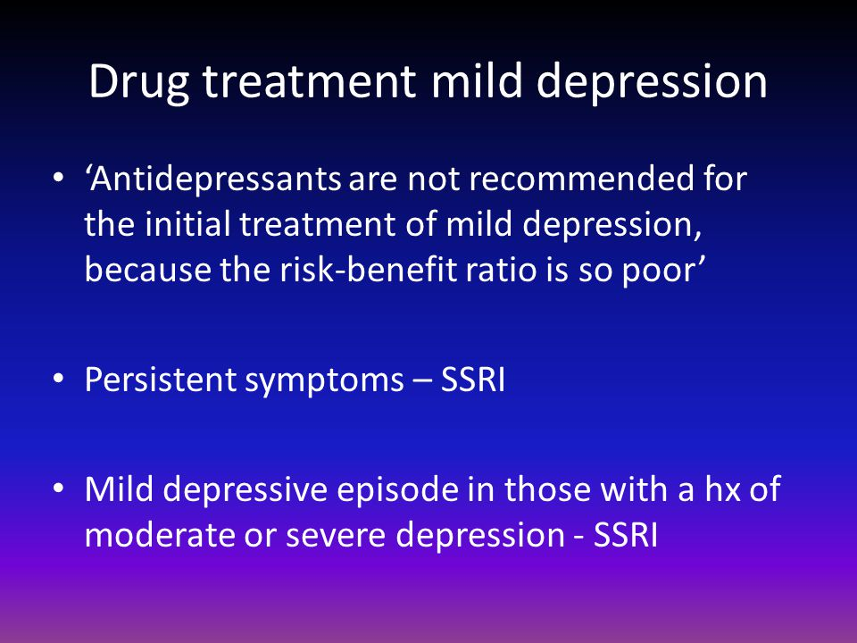 diagnosis and treatment of depression in the elderly Clinicians will likely encounter increasing numbers of older adults with late-life depression advances in our understanding of the neurobiology can help inform diagnosis and prognosis 1.