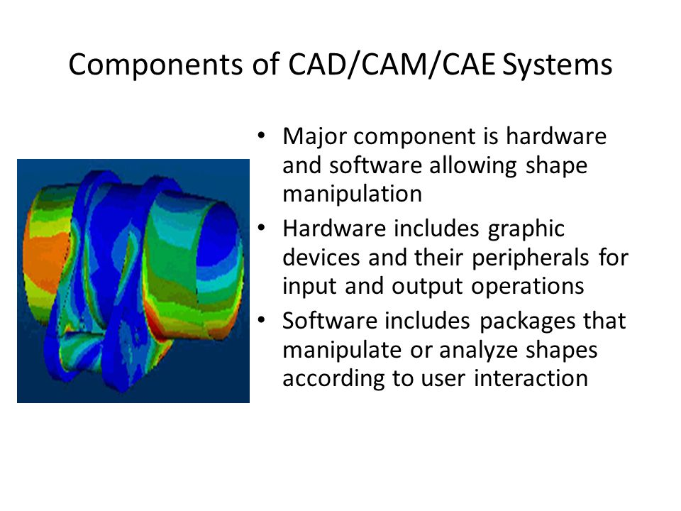cad cam cae The global engineering software market is segmented on the basis of software type, application type, and geography on the basis of software type, the market is segmented into cad software, cae software, cam software, aec software, and eda software.