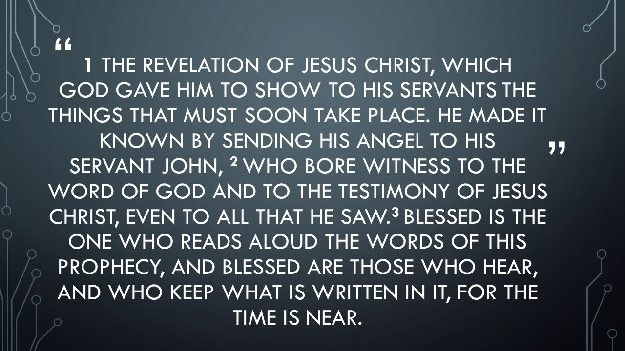 seeing jesus in the book of revelation ppt video online download