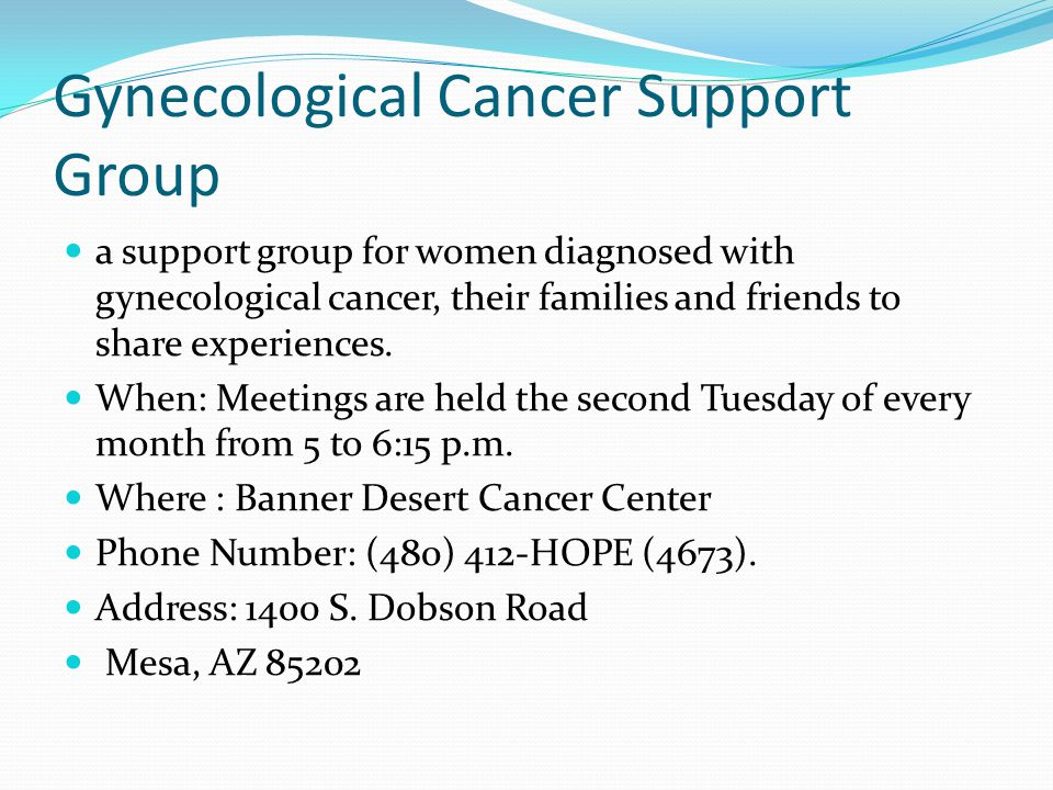 screening for gynecological cancer Cervical cancer is the only gynecologic cancer for which there is a specific screening test, the pap smear the pap test helps prevent cervical cancer by finding precancerous cells that might eventually become cervical cancer.