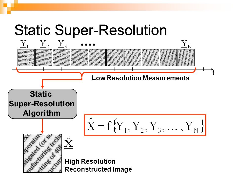 Super-resolution imaging