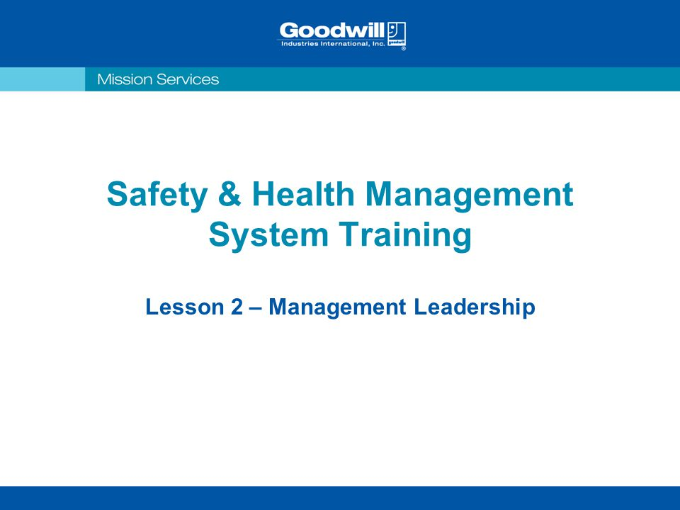safety management system training pdf