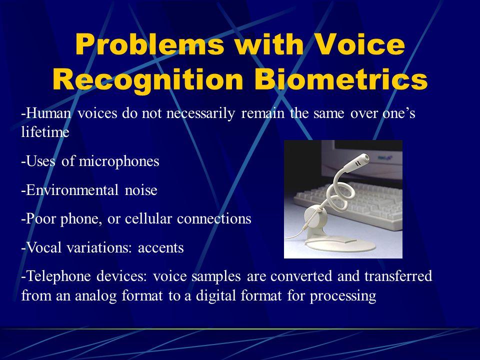 Biometrics Voice Recognition Ppt Video Online Download