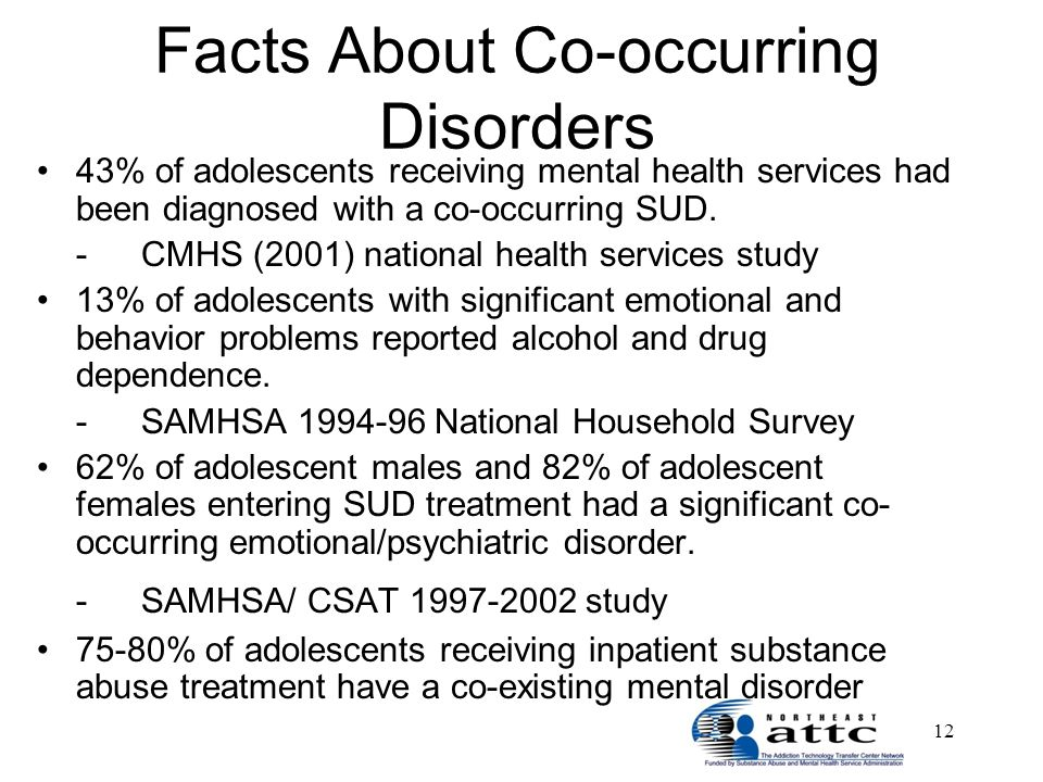 co occurring disorders and behavioral health services This education program will also introduce the integrated model of mental health  and addiction treatment services, outlining how to utilize current substance.