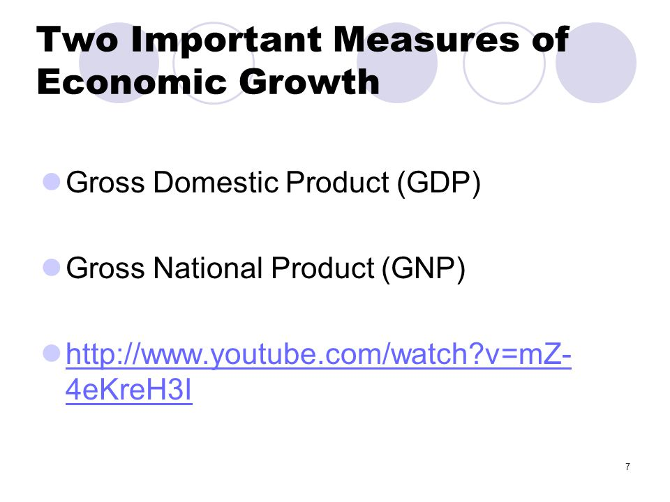 the definition of economic growth and gross domestic product Definition: gross domestic product is an aggregate measure of production equal to the sum of the gross values added of all resident institutional units engaged in production (plus any taxes, and minus any subsidies, on products not included in the value of their outputs.