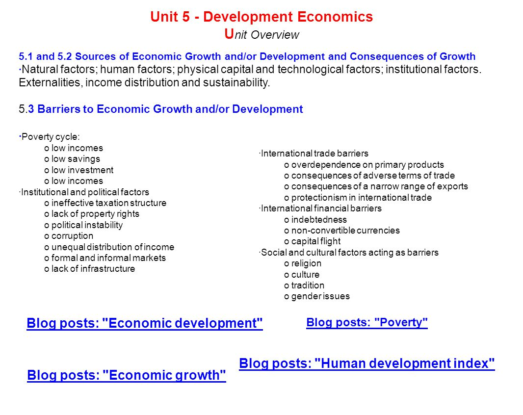 Economic growth is what sources of growth are 2