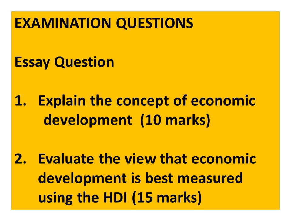 economy questions essay As and a level: economics browse the considerable number and variety of essay examples on the good conclusions usually refer back to the question or.