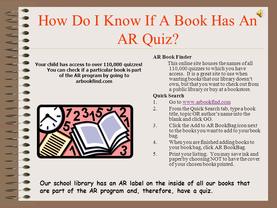 How Do I Know If A Book Has An AR Quiz
