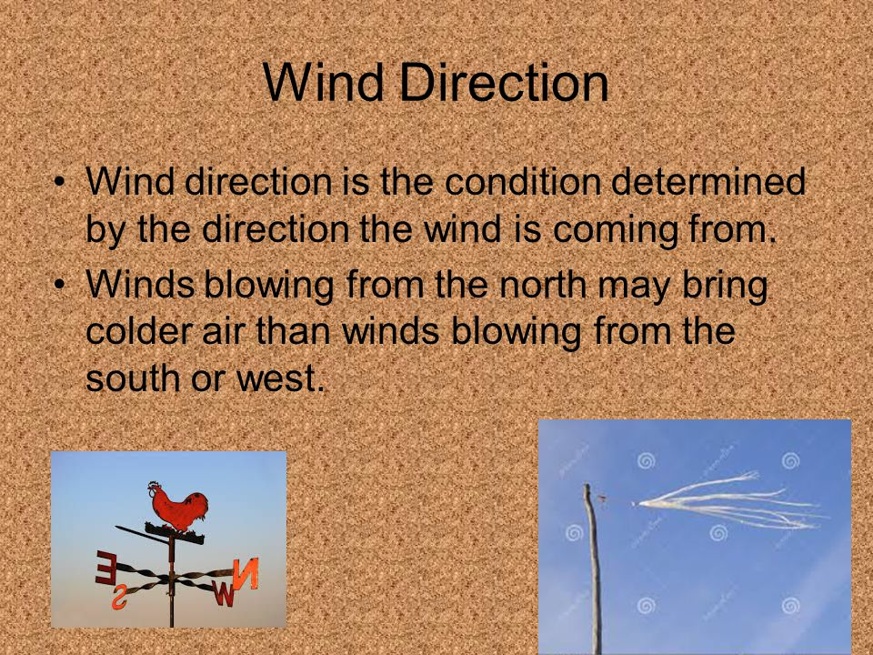 how to tell direction of wind
