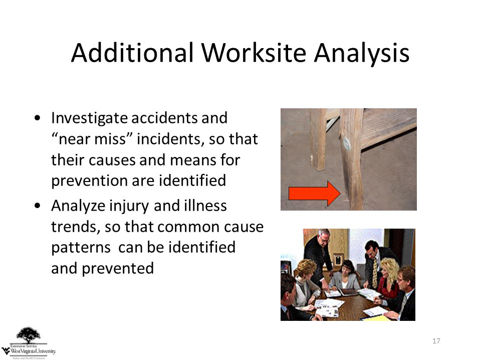 Additional Worksite Analysis