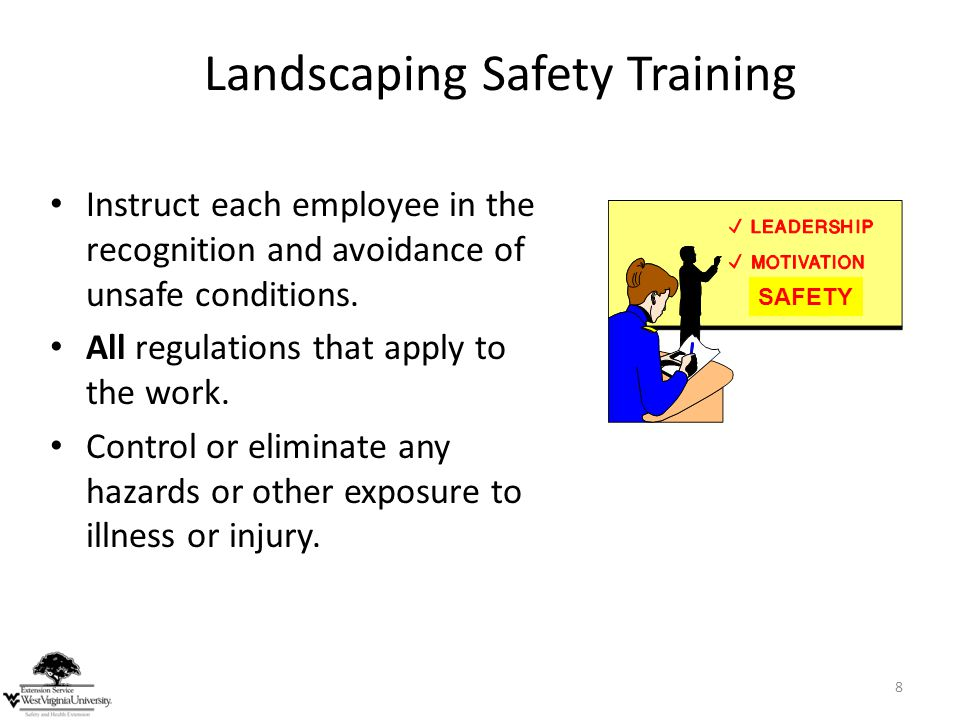 Landscaping Safety Training