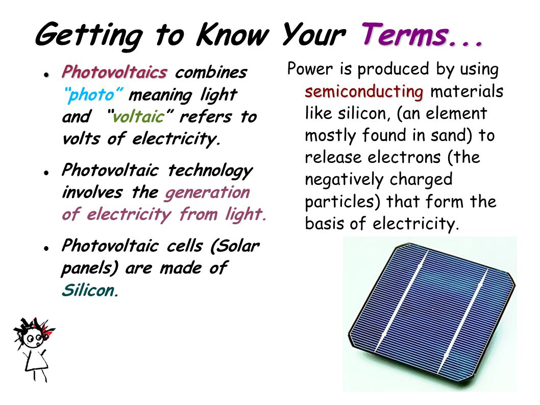 Getting to Know Your Terms...