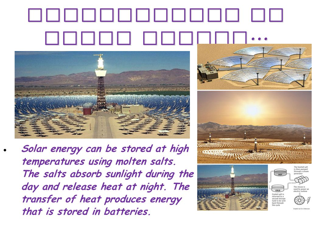 Applications of Solar Energy...