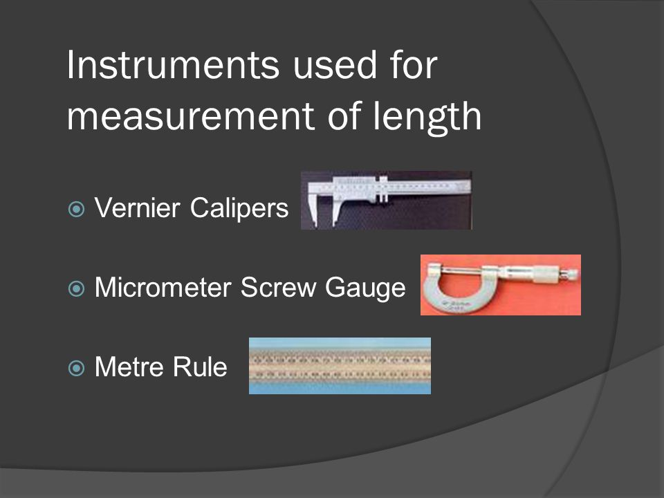 instrument used for measurement Study of dc-ac measuring instruments  electric measuring instruments and meters are used to  the permanent magnet moving coil instrument and it is used for.