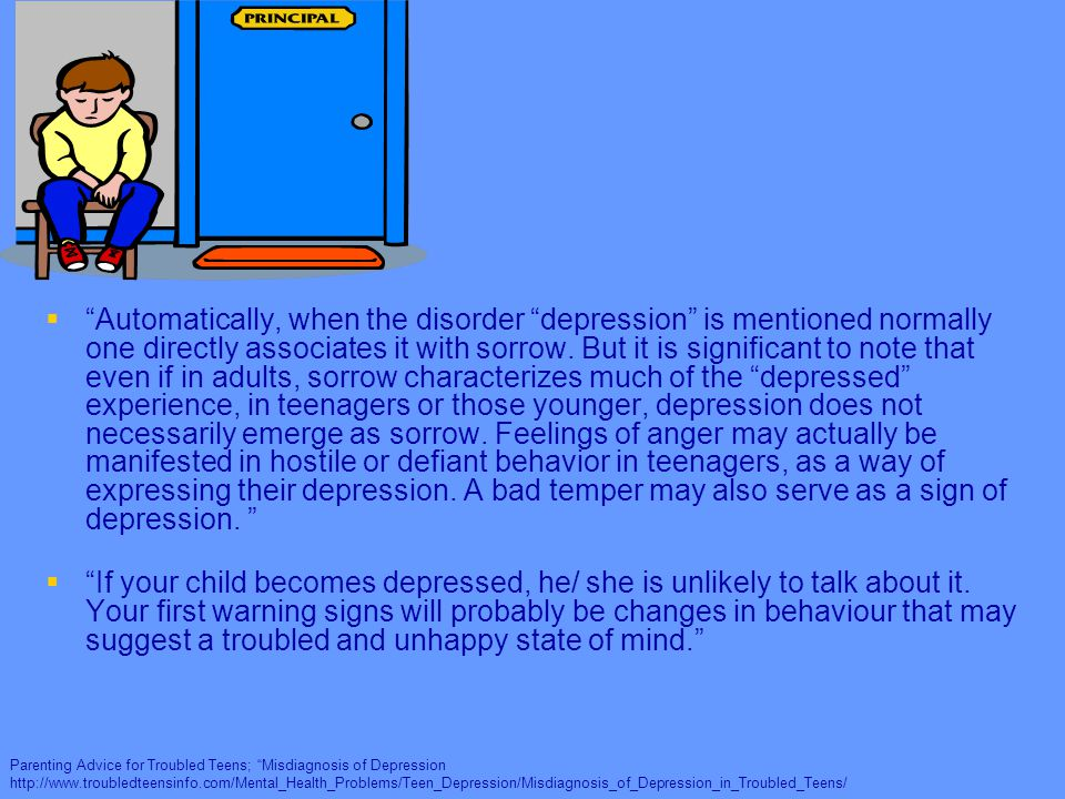 a description of the under acknowledged disease adolescent depression Actions against depression under the programme of community action in the field of public health stress and depression in children and adolescents.