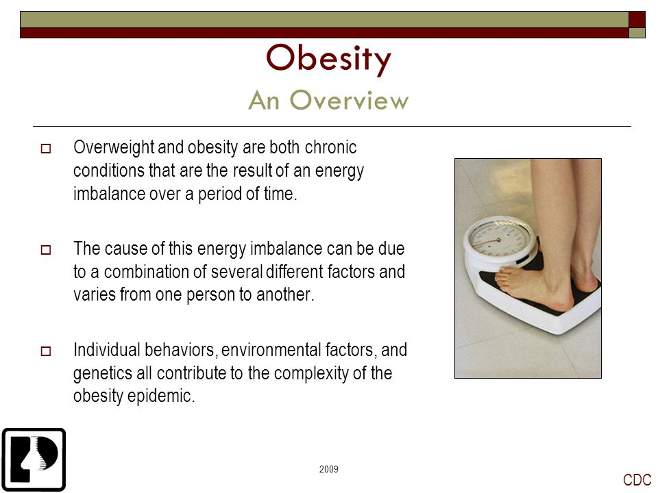 overview of obesity The problem of childhood obesity in the united states has grown considerably in recent years between 16 and 33 percent of children and adolescents are obese.