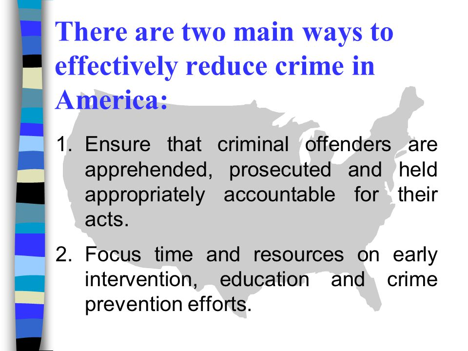 using education to prevent crimes in juveniles The most effective way to prevent juvenile delinquency has indisputably been   to commit crimes between 2 pm and 8 pm, with crime rates peaking at 3 pm.