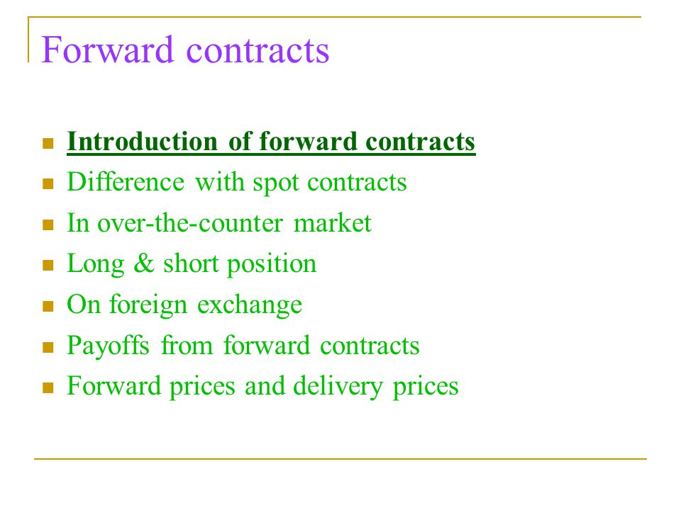 dozier foreign exchange market and forward contract Foreign exchange (fx) forward european union electricity market glossary 'foreign exchange (fx) forward' is a derivative contract that solely involves the exchange of two different currencies on a specific future date at a fixed rate agreed at the inception of the contract covering the exchange.