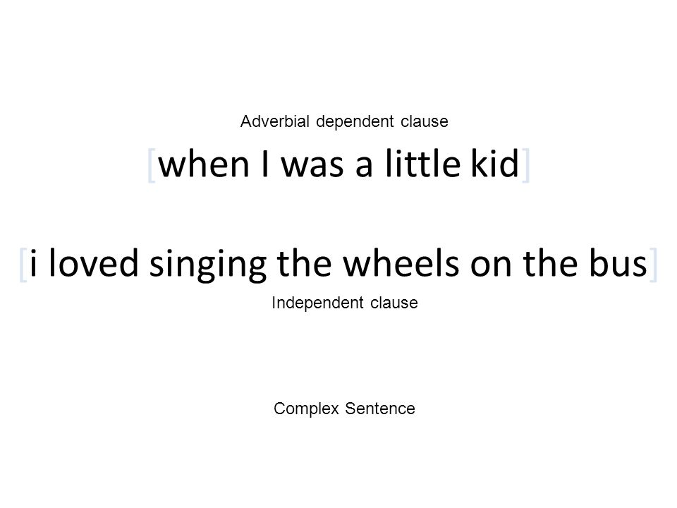 [when I was a little kid] [i loved singing the wheels on the bus]