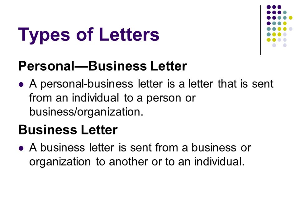 Business Letters EQ How do we write a business letter ppt download